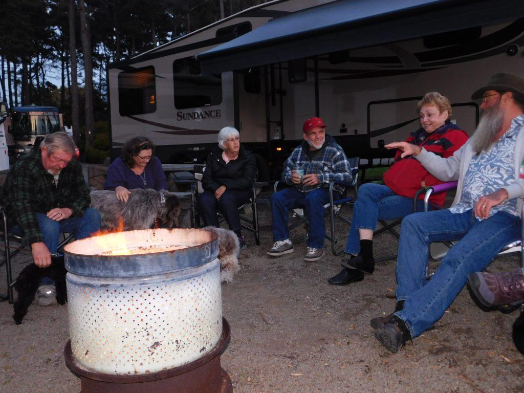Fort Bragg fire gathering