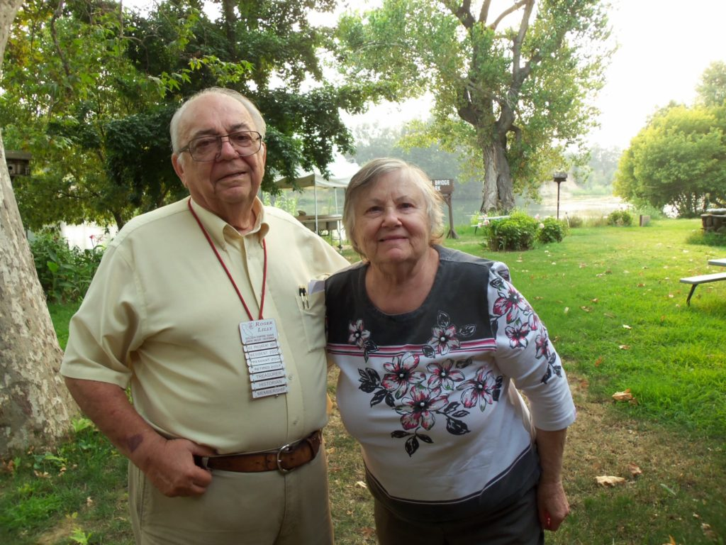 Roger & Marilyn. Aug. 2018 Woodson Bridge RV