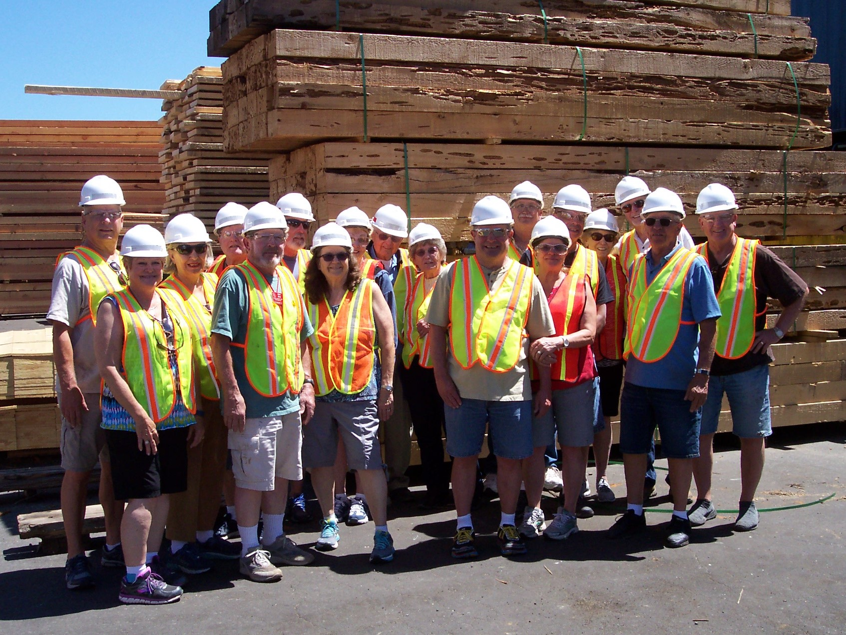Mill Tour in Quincy, Ca. June 15th, 2019